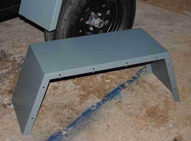M416, M101 Miltary Trailer Jeep Trailer Custom Wide Fenders