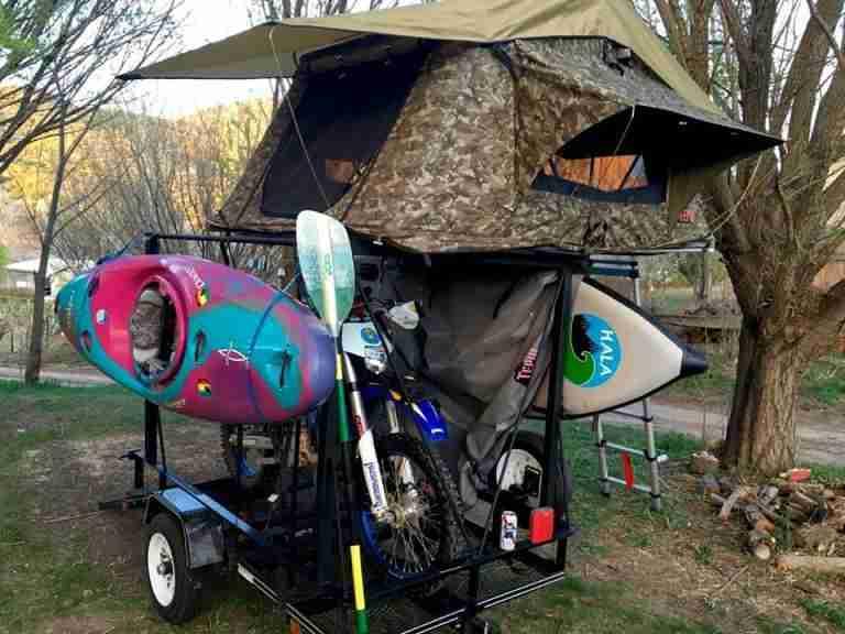 Jeep Trailer Rack No Weld DIY Trailer Racks